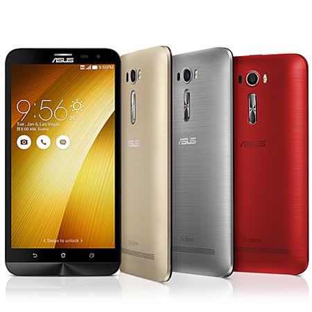 ASUS ZenFone 2 Laser (ZE601KL)6吋雙卡八核心_(4G)智慧手機 -贈專用皮套+9H鋼化保貼+韓版收納包+奈米噴劑+手機/平板支架