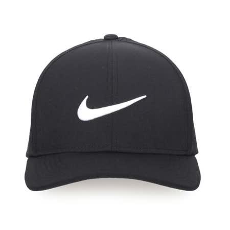 NIKE GOLF 運動帽-高爾夫球 帽子 鴨舌帽 防曬 黑白 L