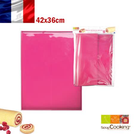 法國【Scrap Cooking】樂桃烘廚 海綿蛋糕專用烘焙墊捲模42x36cm