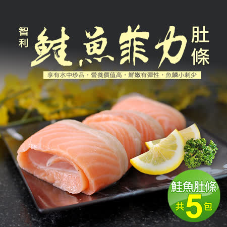 【築地一番鮮】鮭魚菲力5包(約500g/包)免運組