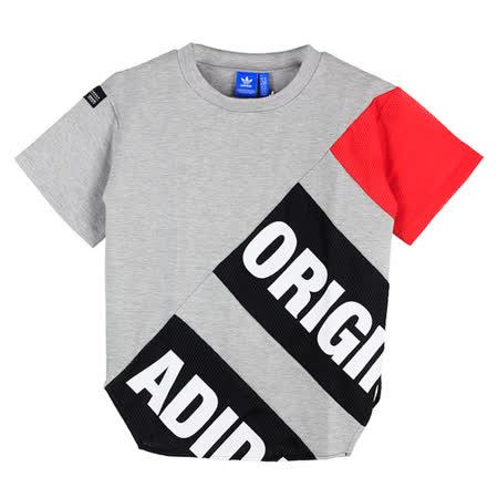 ADIDAS 女 T-SHIRT 短袖 灰 BK6124