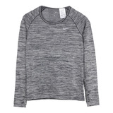 NIKE 女 AS W NK DF KNIT TOP LS 長袖 灰 831501010