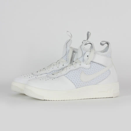 NIKE 女 W AIR FORCE 1 ULTRAFORCE MID 休閒鞋 白 864025100