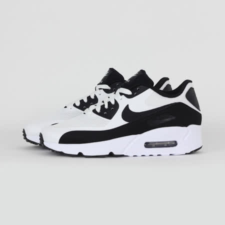 NIKE 女 AIR MAX 90 ULTRA 2.0 (GS) 休閒鞋 黑白 869950101