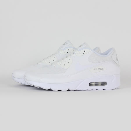 NIKE 男 AIR MAX 90 ULTRA 2.0 ESSENTIAL 休閒鞋 白 875695101