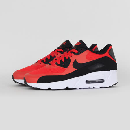NIKE 女 AIR MAX 90 ULTRA 2.0 (GS) 休閒鞋 黑紅 869950800