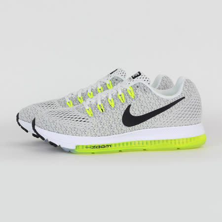 NIKE 女 WMNS NIKE ZOOM ALL OUT LOW 慢跑鞋 灰 878671107