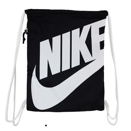NIKE NK HERITAGE GMSK 束口袋 黑白 BA5351011