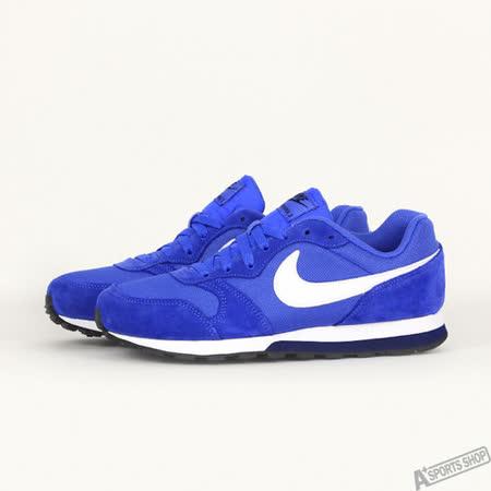 NIKE 女 MD RUNNER 2 (GS) 休閒鞋 藍 807316406