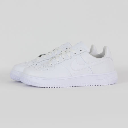 NIKE 女 AIR FORCE 1 ULTRAFORCE (GS) 休閒鞋 白 845128101