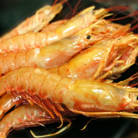【築地一番鮮】頂級刺身用-天使紅蝦1kg(約20-25尾/kg)免運組