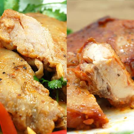 【築地一番鮮】異國風味雞腿10隻(迷迭香烤雞腿5隻+紐奧良雞腿5隻)免運組