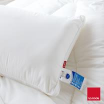 【La Mode寢飾】英威達防蹣可水洗七孔枕(1入)