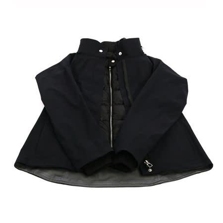 【HERMES】二件式夾克外套(含可拆式羽絨背心)(S)(深藍)
