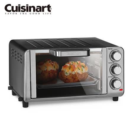 美國Cuisinart 美膳雅多功能不銹鋼烤箱 TOB-80TW