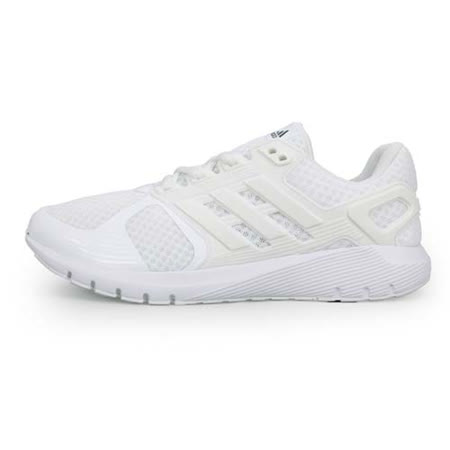 (男) ADIDAS DURAMO 8 M 慢跑鞋-路跑 白黑銀