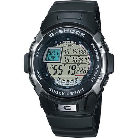 CASIO 卡西歐 G-SHOCK 極限賽車腕錶-黑 G-7700-1HDR