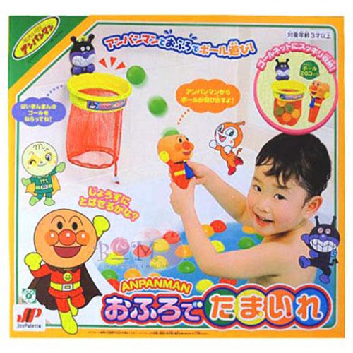 《 麵包超人 》ANP洗澡投籃玩具