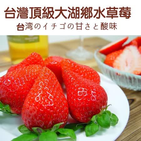 【鄒頌】台灣大湖網室草莓【約30-36顆/盒】(單盒入)