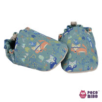 英國 POCONIDO 純手工柔軟嬰兒鞋 (小小狐狸)