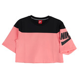 NIKE 女 AS W NSW TOP CROP IRREVERENT 上衣 843533010