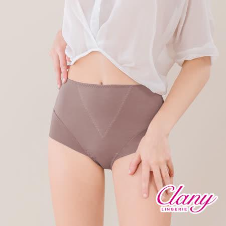 【可蘭霓Clany】保養絲蛋白L-2XL蜜桃褲 可可咖 2170-15