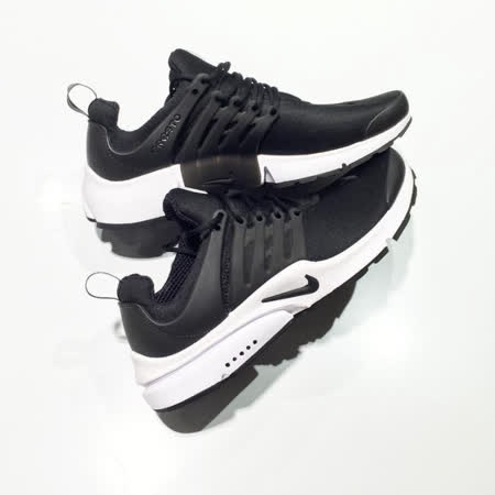 NIKE 男 NIKE AIR PRESTO ESSENTIAL 休閒鞋 黑白 848187009
