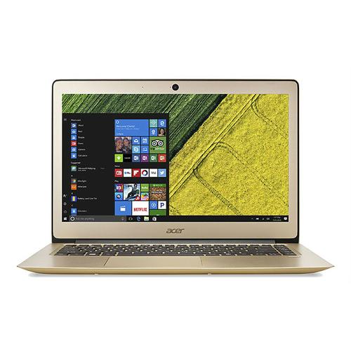 Acer SF314-51-53NC 14吋FHD/i5-7200U/8GB/256GBSSD 極輕薄筆電(金)-贈清潔組/鍵盤保護膜/滑鼠墊/64GB隨身碟/ACER無線滑鼠