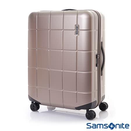 Samsonite新秀麗 28吋Tileum霧面防刮飛機輪硬殼TSA行李箱(象牙金)