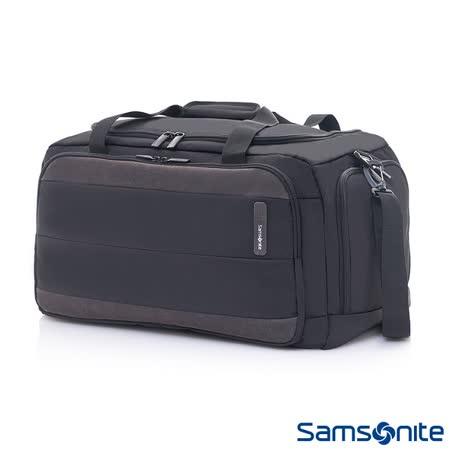 Samsonite新秀麗 Squad都市輕盈休閒旅行袋(黑/碳灰)