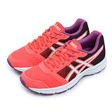 【女】Asics亞瑟士 專業慢跑鞋 PATRIOT 8 粉橘紫 T669N-2001