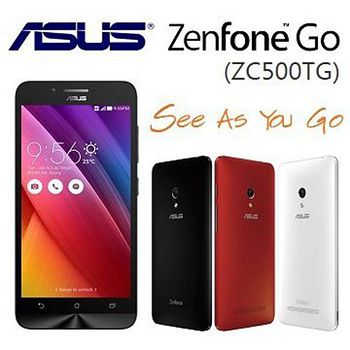 【送16G記憶卡+鋼化玻璃貼+筆型觸控筆】 華碩 ASUS ZenFone GO ZC500TG 2G/16G 5吋 四核雙卡雙待智慧機