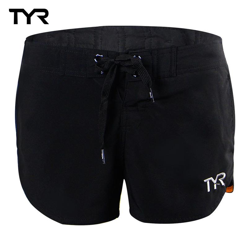 美國TYR 女款透氣排汗短褲 Solid Beach Shorts 總代理