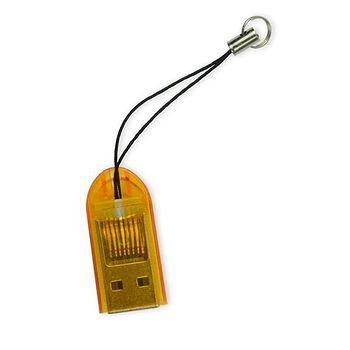 YANG YI揚邑 TF/MicroSD/SDHC/SDXC吊飾讀卡機 (隨機出貨)