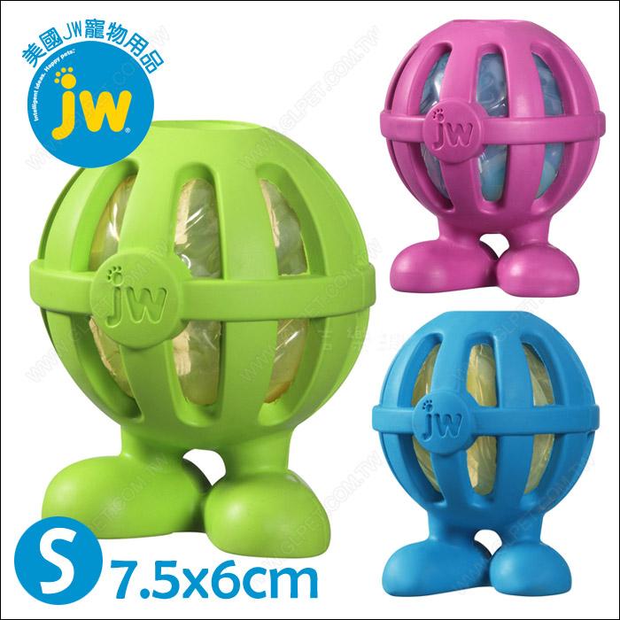 美國JW~Crackle Heads人型嗶嗶球S~安全無毒耐咬發聲玩具