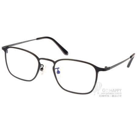 NINE ACCORD眼鏡 簡約細方框款 (黑) #NICRO SH1 C01
