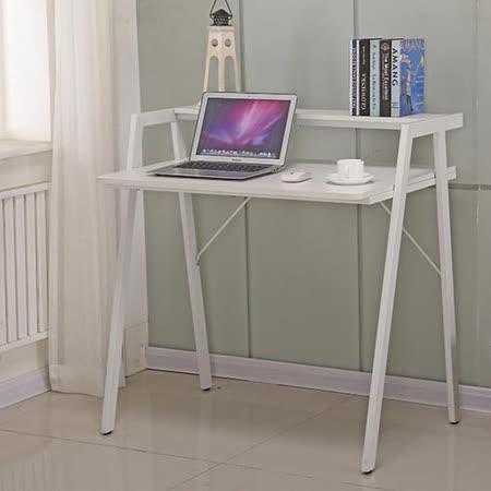 AT HOME-米雅3尺白色雙層書桌