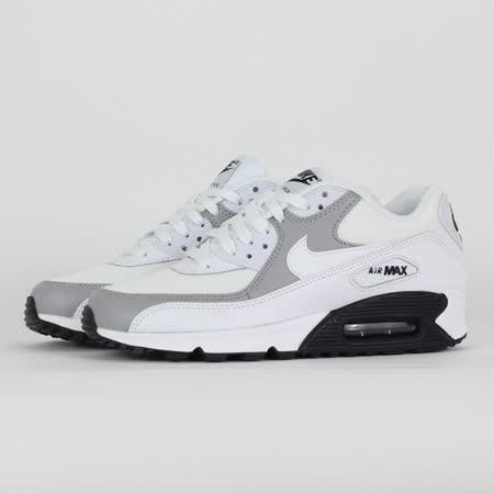 NIKE 女 WMNS AIR MAX 90 休閒鞋 黑白 325213126