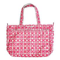 【美國Ju-Ju-Be媽咪包】Super Be 萬用提袋-PinkPinwheels粉系迷情