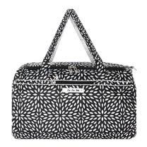 【美國Ju-Ju-Be媽咪包】Super Star 大容量旅行袋-PlatinumPetals黑白花瓣