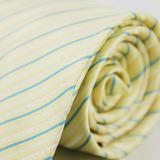 【雅派Alpaca】黃底藍斜紋領帶(品特)