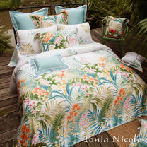 Tonia Nicole東妮寢飾 列蒂西雅環保印染100%天絲兩用被床包組(雙人)