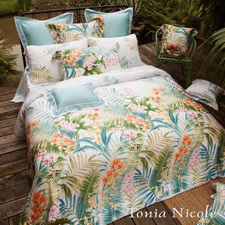 Tonia Nicole東妮寢飾 列蒂西雅環保印染100%天絲兩用被床包組(加大)