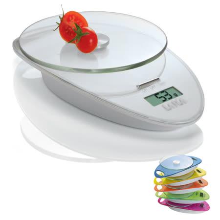義大利LAICA 時尚設計 萊卡彩色廚房秤 電子廚秤 磅秤 KS1005