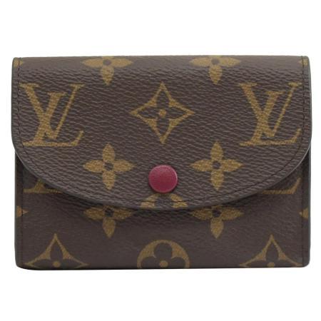 Louis Vuitton LV M41939 Rosalie 經典花紋信用卡零錢包_現貨