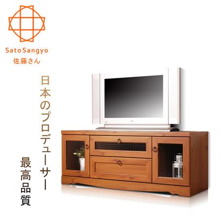 【Sato】PISTRO巴黎公寓視聽電視櫃‧幅118cm