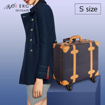 【MOIERG】Voyager一個人旅行Side Type 4 wheel (M-17吋) Navy