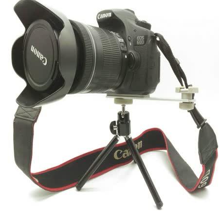 二合一 橫桿支架+小腳架 (贈柔光罩) 閃光燈支架 攝影機支架 補光燈橫桿 一字架連桿 1/4標準螺孔/