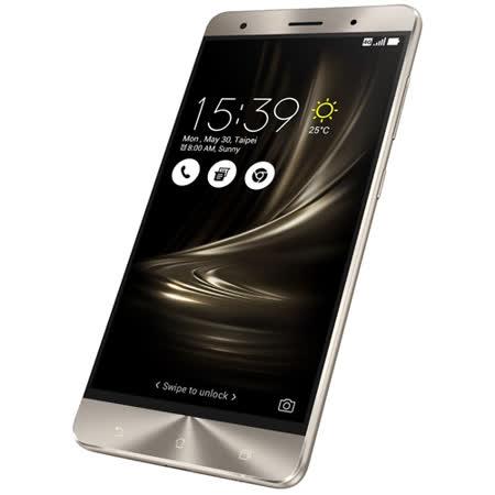 ASUS ZenFone 3 Deluxe (ZS570KL) 5.7吋4G全頻雙卡機(6G/256G版)-送5200行動電源(額定容量2600mAh)+螢幕保護貼