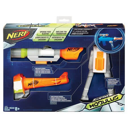 《 NERF 樂活打擊 》打擊者自由模組系列 - 狙擊任務升級套件